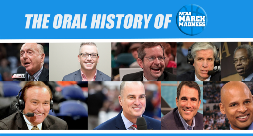The oral history of March Madness.