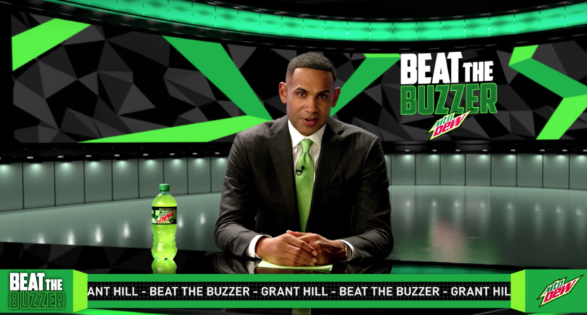 grant hill-mountain dew