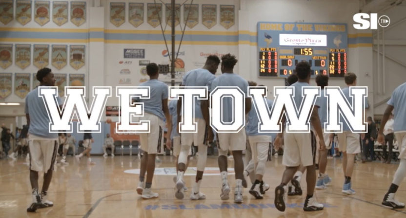 We Town is SI TV's upcoming Mike Tollin doc on a crazily-talented high school basketball team.