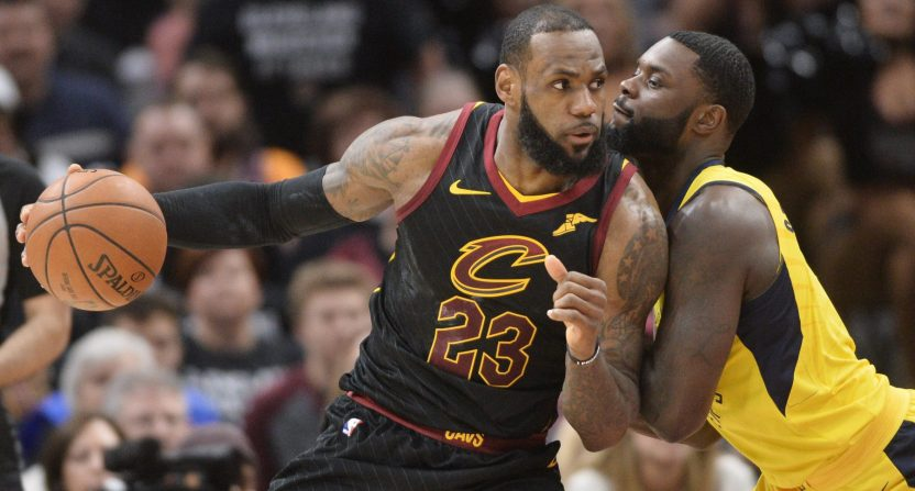 lebron james-cleveland cavaliers-indiana pacers-nba ratings-game 7
