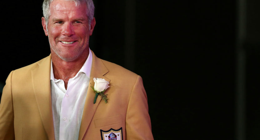 Brett Favre reportedly blew his 'Monday Night Football' audition