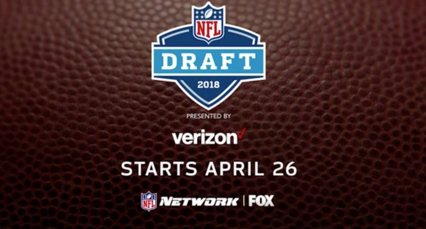 A promo for the NFL draft on Fox.