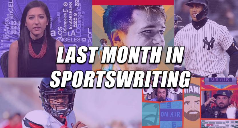best sportswriting