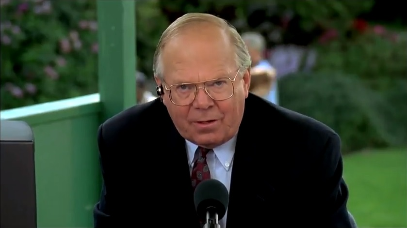Verne Lundquist will call the Masters and PGA Championship ...
