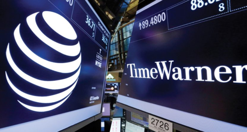 AT&T's proposed Time Warner merger.