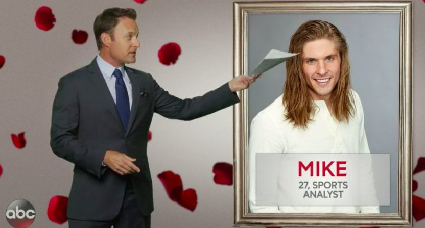 Pro Football Focus' Mike Renner on The Bachelorette.