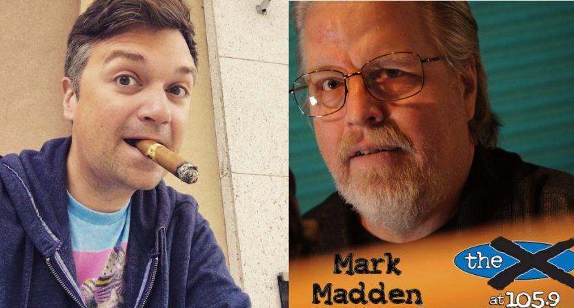 Greg Wyshynski and Mark Madden got into it on Twitter Wednesday.