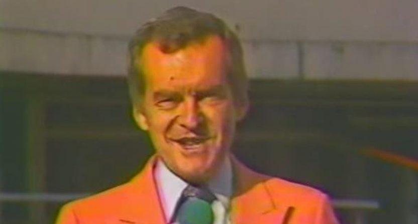 Famed Tennessee announcer John Ward.