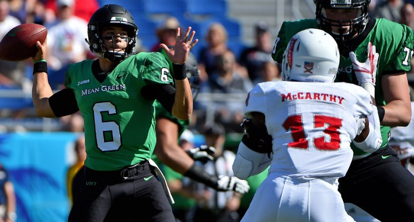 The 2017 Conference USA championship saw North Texas against FAU.