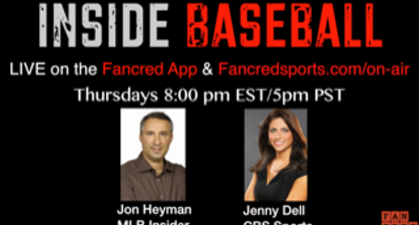Jon Heyman is co-hosting a new Inside Baseball show on Fancred with Jenny Dell.