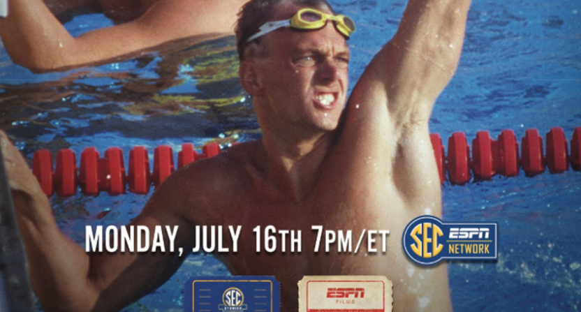 Rowdy Gaines is the focus of ESPN's next SEC Storied documentary.