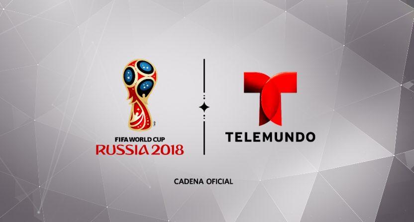 The World Cup on Telemundo.