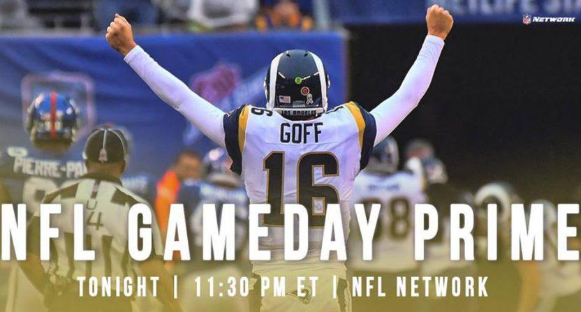 NFL GameDay Prime.