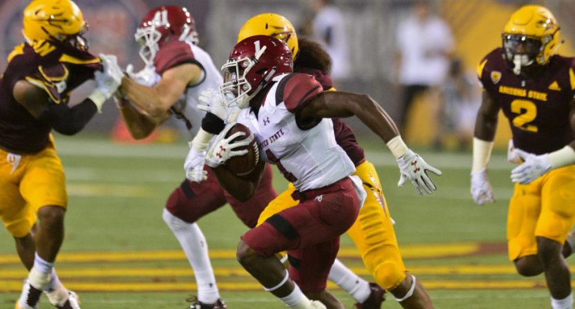 The Pac-12 Networks showed games like New Mexico State - Arizona State in 2017.