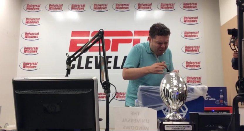 Aaron Goldhammer eating poop.