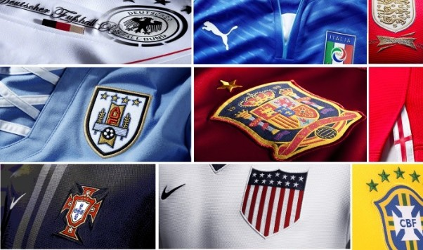 2014 World Cup Jersey Power Rankings - 32 Flags 10b2c60dd