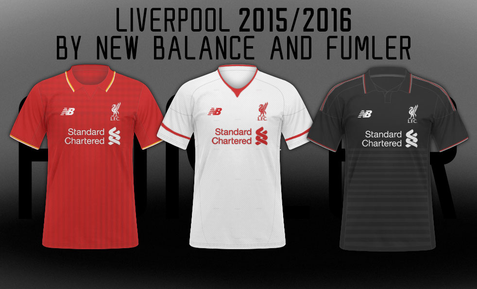 26f55bc2a PHOTOS  Liverpool 2015-16 kits supposedly leaked