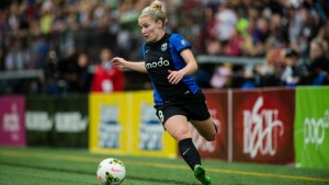 Kim Little and Seattle Reign FC welcome rivals Christine Sinclair and Portland Thorns FC to town Sunday for the second meeting between the clubs in five days. Photo by NWSL.