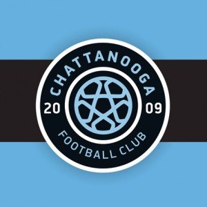 "Chattanooga FC ""Black Bar"" logo"