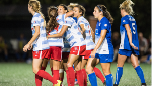 Red Stars' Press Powers Dramatic 2-1 Win at Boston. Photo by Chicago Red Stars.
