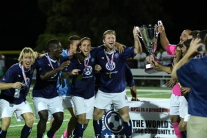 NPSL South Region Champions Chattanooga FC. Photo by Paul Morin.
