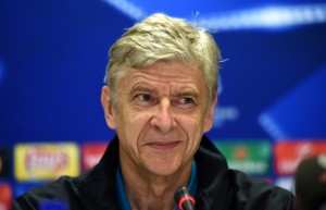ATHENS, GREECE - DECEMBER 08:  Arsene Wenger, manager of Arsenal attends an Arsenal press conference ahead of the UEFA Champions League match against Olympiacos at Athens International Airport on December 8, 2015 in Athens, Greece.  (Photo by Michael Regan/Getty Images)