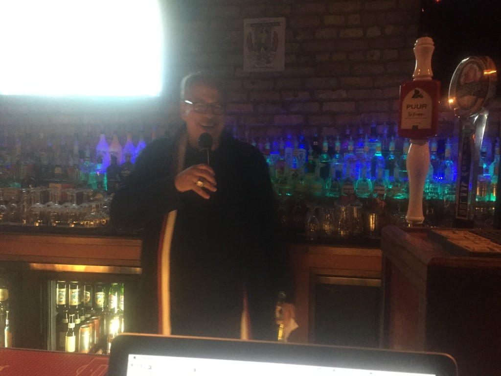 Peter Wilt speaks during the Chicago NASL Q&A on Feb. 15