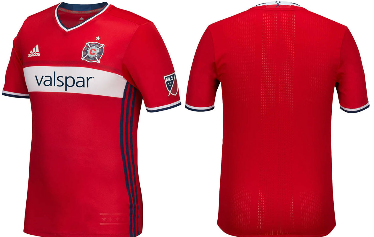 2790b28de05 Chicago Fire – New primary kit officially launched Keeping current  secondary kit