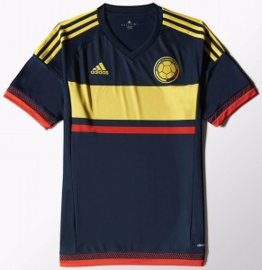 Colombia Away/Source: Adidas