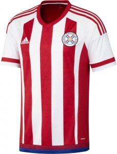 Paraguay Home/Source: Adidas
