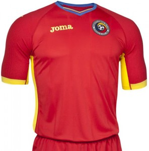 Romania Away/Source: Joma