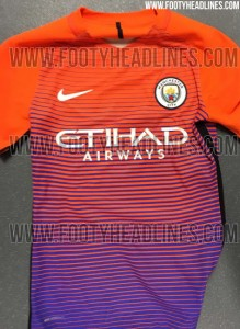 Manchester City Third - (Footy Headlines/leaked)
