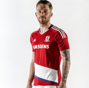 Middlesbrough Home - Adidas
