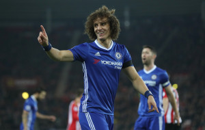 SUNDERLAND, ENGLAND - DECEMBER 14:  David Luiz of Chelsea is seen during the Premier League match between Sunderland and Chelsea at Stadium of Light on December 14, 2016 in Sunderland, England. (Photo by Ian MacNicol/Getty Images)