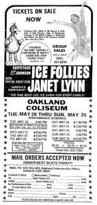 Ice Follies Ad