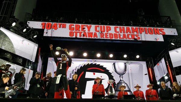Henry Burris Grey Cup