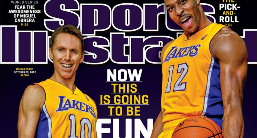 49519d4787a Getting Dwight Howard and Steve Nash had many predicting Lakers ...