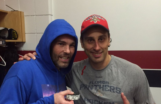 Roberto Luongo On Jaromir Jagr Looking At Him Makes Me Feel Young