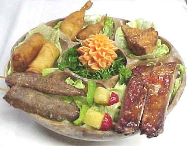 Pu Pu Platter - Reunion Chinese Restaurant