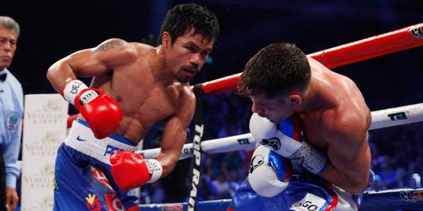 Manny Pacquiao Scores Six Knockdowns, Decisions Chris ...