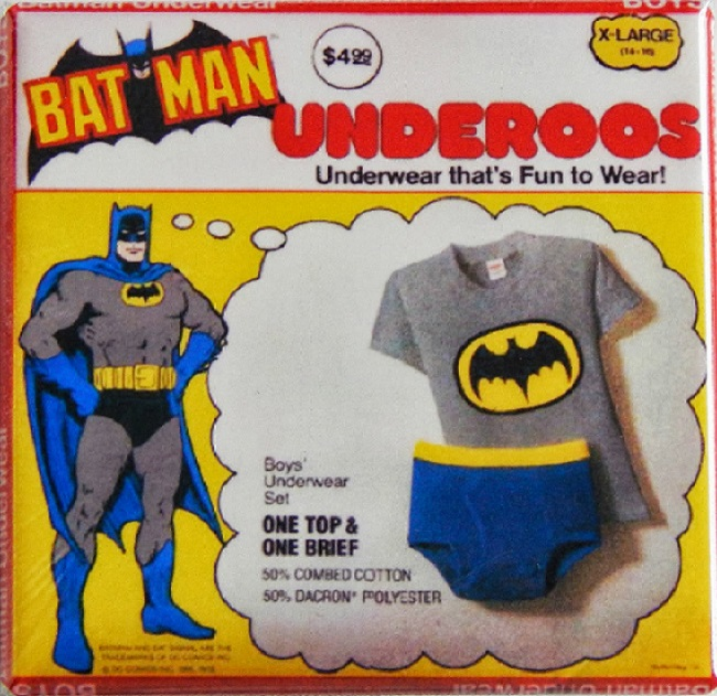 56ea0f1726d But almost every DC Comics or Marvel Comics superhero you could name had a  set of Underoos. Superman