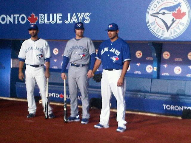 new concept 4c3ee b9a15 Toronto Blue Jays Unveil New Uniforms, Hit a Rebranding ...