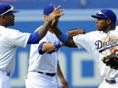 Dodgers outfield