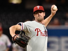 Phillies ace Cole Hamels