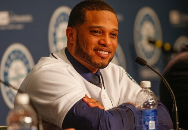 SEATTLE, WA - DECEMBER 12:  Robinson Cano of the Seattle Mariners speaks to the media during his introductory press conference at Safeco Field on December 12, 2013 in Seattle, Washington.  (Photo by Otto Greule Jr/Getty Images)