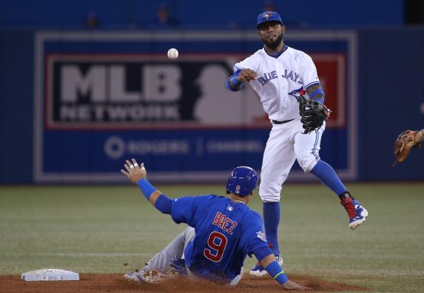 Blue Jays shortstop Jose Reyes