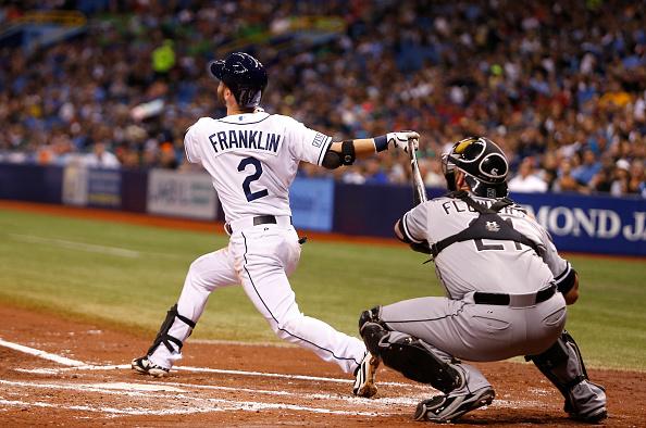 Rays infielder Nick Franklin