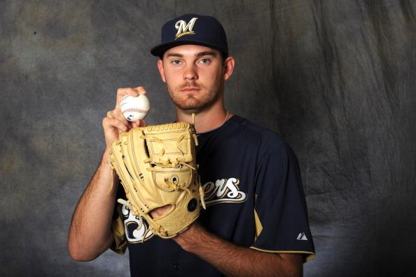 Brewers pitcher Taylor Jungmann