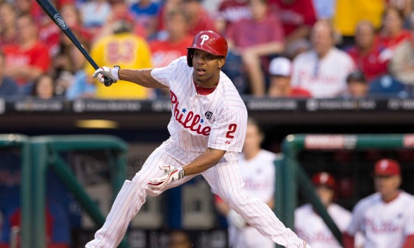 Phillies outfielder Ben Revere