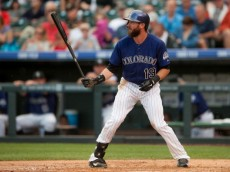 Rockies outfielder Charlie Blackmon
